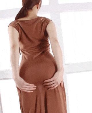 Sexy Butt in a sexy Dress Thumbnail - assgifs.com