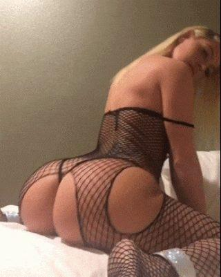 Hot Blonde has a killer ass