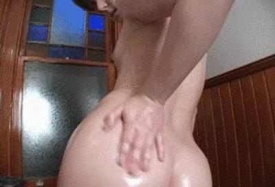 She wants you to cum on her ass