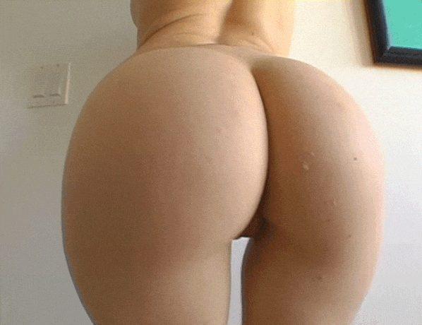 Perfect smooth Peach Butt